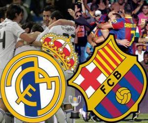 Puzle Final da Copa del Rey 2010-11, o Real Madrid - FC Barcelona