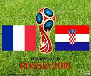 Puzle Final da Copa do mundo Rússia 2018