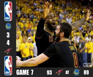 Puzle Final da NBA 16, jogo 7