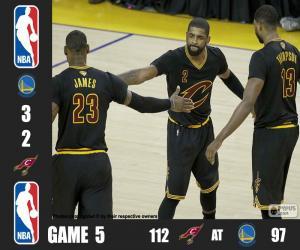 Puzle Final da NBA 2016, 5º jogo