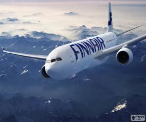 Puzle Finnair, companhia aérea da Finlândia