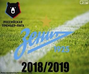 Puzle FK Zenit, campeão 2018-2019