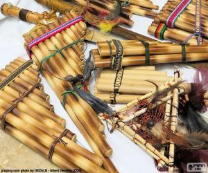 Puzle Flauta de pã