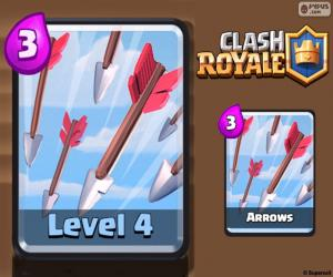 Puzle Flechas de Clash Royale