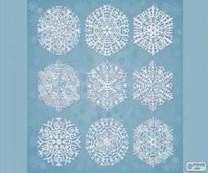 Puzle Flocos de gelo