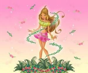 Puzle Flora, Fada das flores