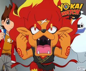 Puzle Fogoleo, Yo-Kai relógio
