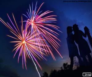 Puzle Fogos de artifício
