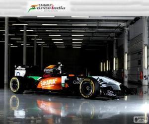 Puzle Force India VJM 07 - 2014 -