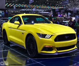 Puzle Ford Mustang 2015
