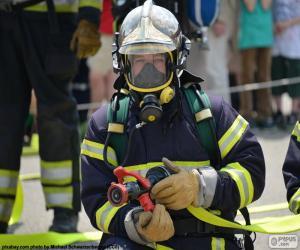 Puzle Formação de bombeiro
