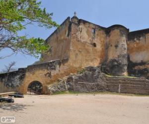 Puzle Fortaleza de Jesus de Mombaça (Quénia)