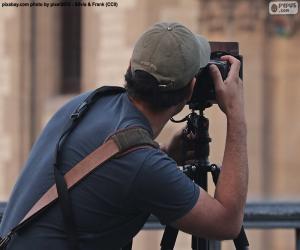 Puzle Fotógrafo