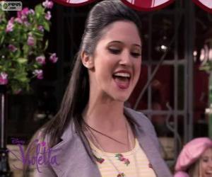 Puzle Francesca cantando Violetta 2