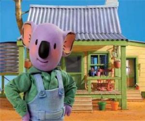 Puzle Frank é um dos irmãos koala australiano