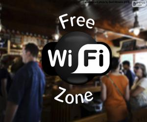 Puzle Free wifi zone