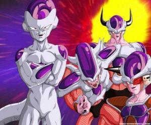 Puzle Freeza, um supervilão e um grande inimigo de Goku pode viver flutuando no espaço sideral