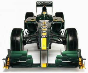 Puzle Frente da, Lotus T127