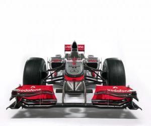 Puzle Frente, McLaren MP4-25