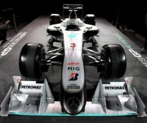 Puzle Frente, Mercedes W01