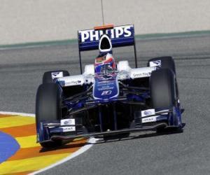 Puzle Frente Williams FW32