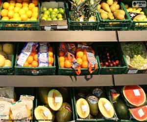 Puzle Frutas