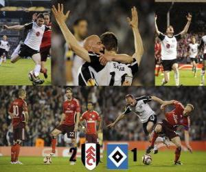 Puzle Fulham FC 2 - Hamburger SV 1
