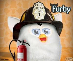 Puzle Furby bombeiro