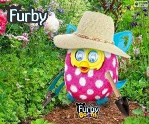 Puzle Furby jardineiro