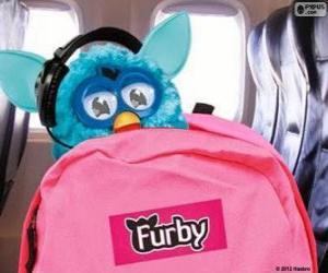 Puzle Furby vai de férias