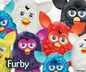 Puzle Furbys vários