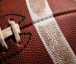 Puzle Futebol americano bola