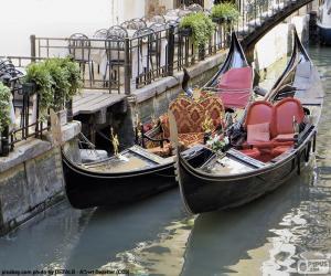 Puzle Gôndolas de Veneza