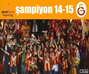 Puzle Galatasaray, campeão 14-15