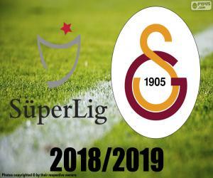 Puzle Galatasaray, campeão 2018-2019