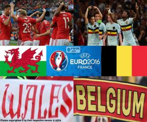Puzle Gales-BE, quartas final Euro 2016