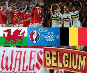 Puzle Gales-BE, quartas final Euro 2016