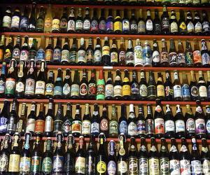 Puzle Garrafas de cerveja