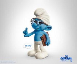 Puzle Gênio, o mais inteligente smurf - Os Smurfs, filme -