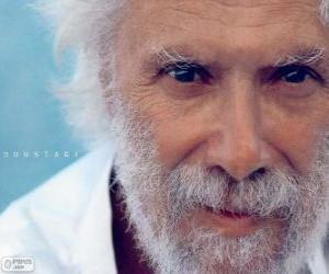 Puzle Georges Moustaki, músico egípcio 1934 - 2013
