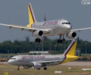 Puzle Germanwings uma companhia aérea de baixo custo alemã
