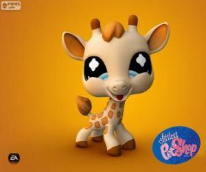 Puzle Girafa da Littlest PetShop