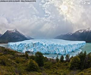 Puzle Glaciar Perito Moreno, Argentina
