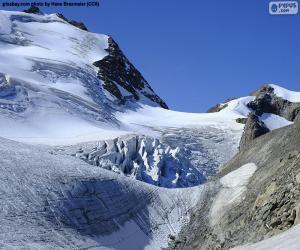 Puzle Glaciar Stein, Suíça