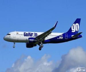 Puzle GoAir uma companhia aérea da Índia