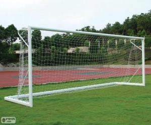 Puzle Gol de futebol