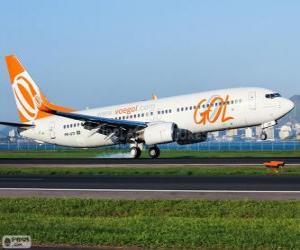 Puzle GOL Transportes Aéreos é uma companhia aérea brasileira