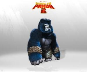 Puzle Gorilas são os músculos do exército do Lorde Shen