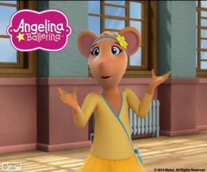 Puzle Gracie, personagem de Angelina Ballerina