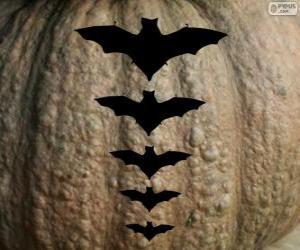 Puzle Grande abóbora de Halloween